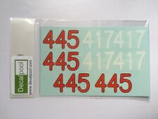 1/24 Mercedes-Benz 300SL #445 mille Miglia '55 Option Decal for Tamiya