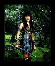LUCY LAWLESS - XENA AUTOGRAPHED SIGNED & FRAMED PP POSTER PHOTO