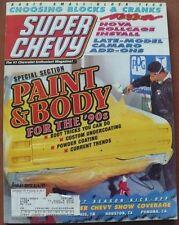 SUPER CHEVY MAGAZINE SEPTEMBER 1997 LATE MODEL CAMARO ADD-ONS, NOVA ROLLCAGE