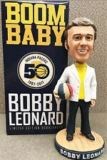 Bobby Leonard bobblehead basketball ABA HOF Limited Edition Opening Night Pacers