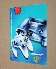 Nintendo 64 the New Dimension of Fun publicidad ad page Flyer Promo