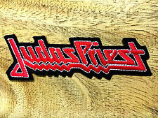 Embroidered Judas Priest Sew Iron On Patch Heavy metal Band Badge DIY