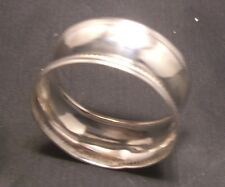 Antique Solid Silver Napkin Ring HM Birmingham 1923, Maker C U