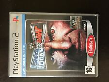 Playstation 2 WWE Smackdown va Raw platinum ITALIEN Pal Wrestling PS2
