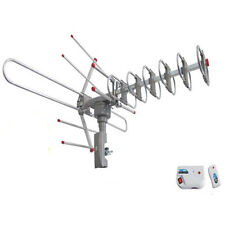 150Miles Digital Outdoor 5w VHF UHF FM HDTV TV Amplified Antenna High Gain 36dB