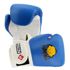 Child Kids PU Leather Boxing Gloves Cartoon for Training Punching MMA Blue New