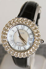 Ecclissi Sterling Silver Mother of Pearl Designer Jewelry Bezel 23885 Watch
