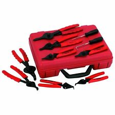11pc Snap Ring Pliers Tool Set Circlip Retaining Plier Kit .038 - .090 tip