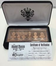 DISNEY PARKS HAUNTED MANSION LIMITED EDITION COPPER E-TICKET NEW #481/1969 GIFT