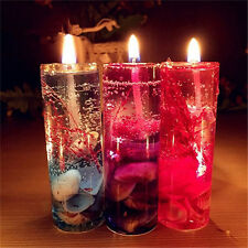 Romantic Smokeless Candles Ocean Shells Jelly Aromatherapy Candles Decoration UK