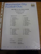 03/01/2012 Colour Teamsheet: Manchester City v Liverpool  . Thanks for viewing o
