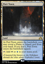 PORT TOWN NM mtg Shadows Over Innistrad Land - Rare