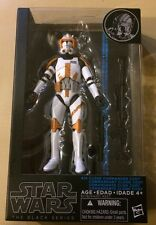 Star Wars The Black Series! New #14 Clone Commander Cody! Hasbro Action Figure!