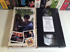 Address Unknown Rare Adventure VHS 1997 OOP HTF Feature Films For Families