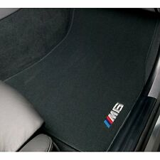 BMW M6 Embroidered Carpeted Floor Mats BLACK  82110416739