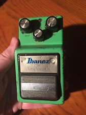 1981 Ibanez TS-9 Tube Screamer BLACK LABEL TA7555AP op amp JAPAN