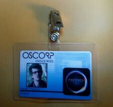 Spiderman ID Badge-Oscorp Industries Peter Parker Intern cosplay prop costume
