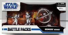 STAR WARS BATTLE PACK GEONOSIS ASSAULT REPUBLIC GUNSHIP TURRET 2 CLONE FIGURES