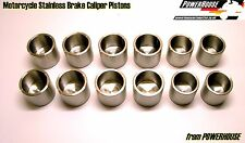 Kawasaki ZX9R ZX-9R ZX9 ZX-9 E1 E2 2000 01 02 Brake Caliper stainless piston set