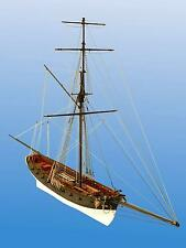 "Historic, Detailed Wooden Model Ship Kit by Dusek: ""Le Cerf"""