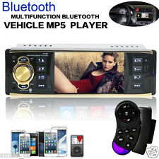 "Bluetooth 4.1"" In-Dash Car Stereo Aux Input USB/SD/FM/MP5/BT Radio Player RC new"