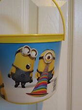 Despicable Me MINIONS Party Pail Bucket Treat Bag  NEW