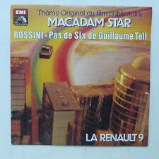 Disque PUB voiture RENAULT 9  Macadam star 2c007 43191