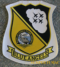"XXL 12"" US NAVY BLUE ANGEL PATCH XL MARINES F-18 HORNET JACKET AIRSHOW GIFT WOW"