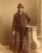 COMANCHE CHIEF QUANAH PARKER VINTAGE PHOTO NATIVE AMERICAN INDIAN c1900  #21246