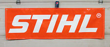 """STIHL LOGO 22"""" x 72"""" BANNER - HEAVY DUTY - FAST SHIPPING!! INDOOR/OUTDOOR"""
