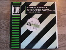RENE & ANGELA & KURTIS BLOW - SAVE YOUR LOVE  MAXI 12""