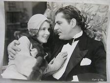 Original 1931 Film Movie 7X9 Photo Janet Gaynor & Warner Baxter Daddy Long Legs