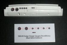 1968 and 1969 DODGE CHARGER GAUGE FACES! - for 1/25 scale REVELL KITS