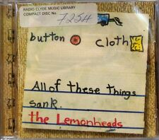 The Lemonheads (Evan Dando) - Car Button Cloth (CD 1996) (Ex Library)