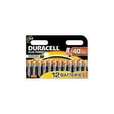 5000394017825 Duracell Battery , Plus Power , AA 12 Pack , Duralock