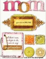 MAMBI - ME & MY BIG IDEAS SOFT SPOKEN STICKERS - SS-218 - GREATEST MOTHER - MOM