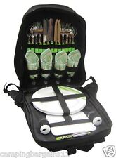 OUTBACK 4 PERSONS PICNIC BACKPACK SET 28 Piece Pack