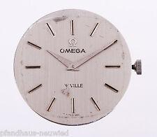 Omega De Ville Kaliber 635 Uhrwerk mit Zifferblatt, Zeiger, Krone und Haltering