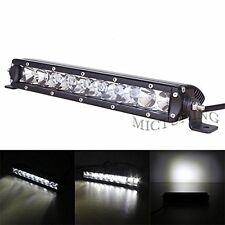11 inch 50W single row LED CREE light bar Truck boat SUV driving ATV Spot lamp