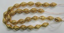 Vintage handmade 22K Gold jewelry beads set of 28 pieces rajasthan india