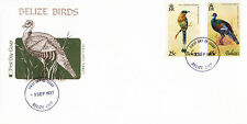 Belize 1977 #389 391 Birds Malmot & Turkey First Day Cover FDC