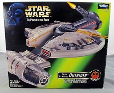 Star Wars Power Of The Force Dash Rendar's Outrider '' Green Box'' Complete CIB