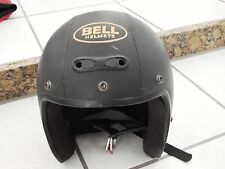 Bell Dot USA Motorcycle Helmet X-Large Leather Italy Made