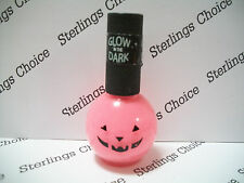 Pumpkin Glow in the Dark Nail Enamel / Polish - Pink