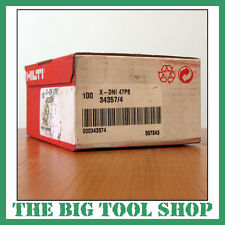 HILTI 47MM GENUINE NAILS FOR HILTI DX460 X-DNI 47P8 34357