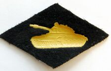 Soviet Russian Army Tank Forces Military Uniform Rhombus Patch Badge Sew On