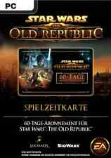 Star Wars: The Old Republic 60 Tage Gamecard Pre-Paid Karte Code SWTOR Spielzeit