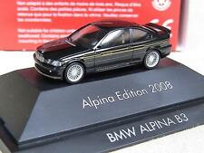 Herpa BMW Alpina B 3 3,3 Coupe Edition 2008 Goldstreifen 101837 OV