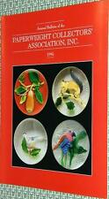 The Paperweight Collectors Association PCA Annual Bulletin 1995