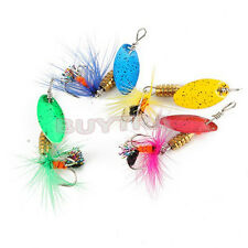 Small Fishing Spinner Spoon Baits Lures Fishing Swim New Lure Crankbait FG